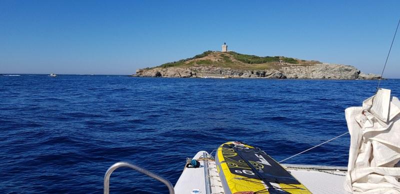 Cruise around the islands in a catamaran