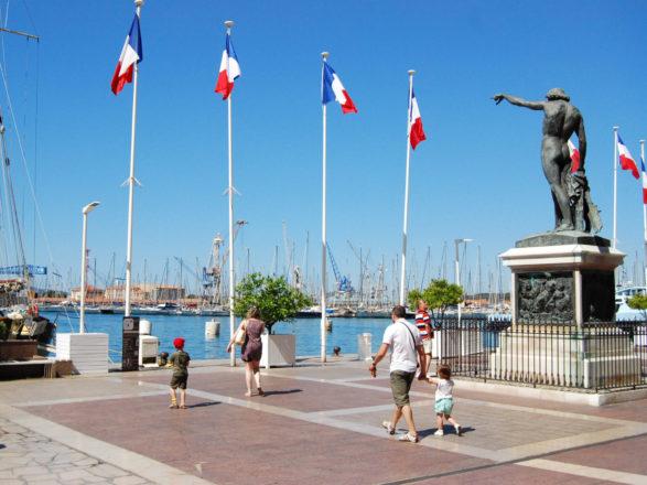 Toulon pas à pas - Statue du Génie de la Navigation