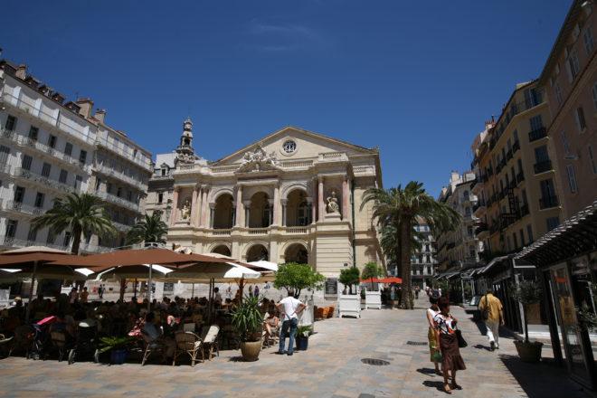 Toulon pas à pas - L'Opéra