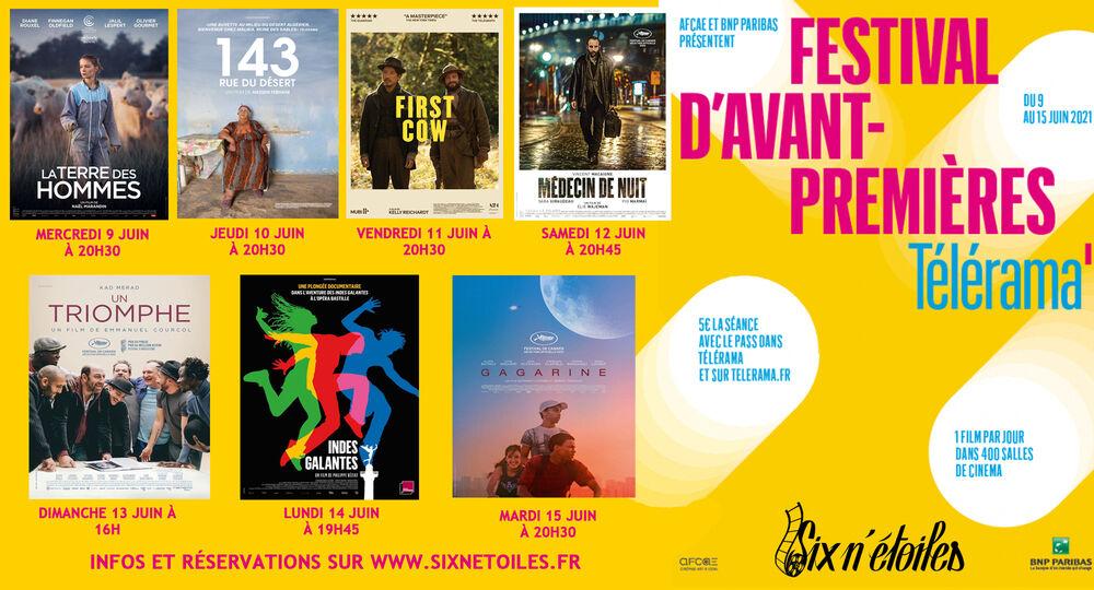 Festival d'avant-premières Télérama à Six-Fours-les-Plages - 0