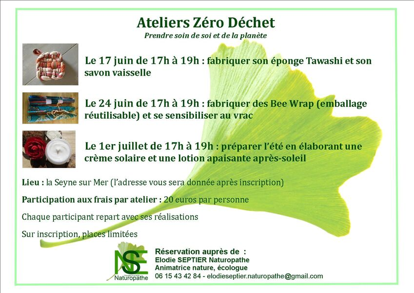 Zero waste workshops for adults à La Seyne-sur-Mer - 0