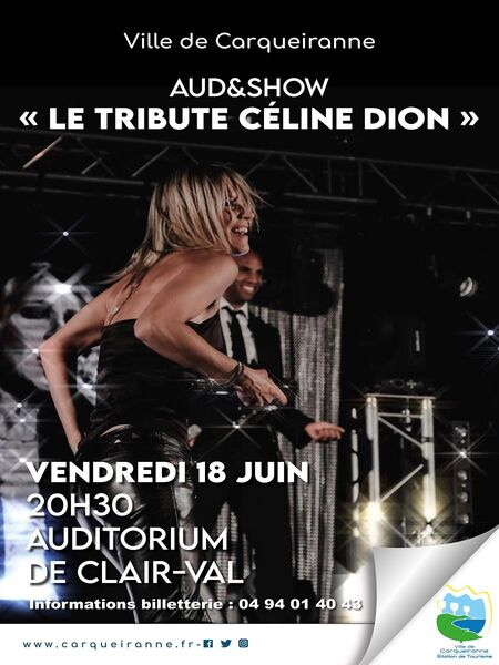Concert – Aud & Show le Tribute Céline Dion à Carqueiranne - 0