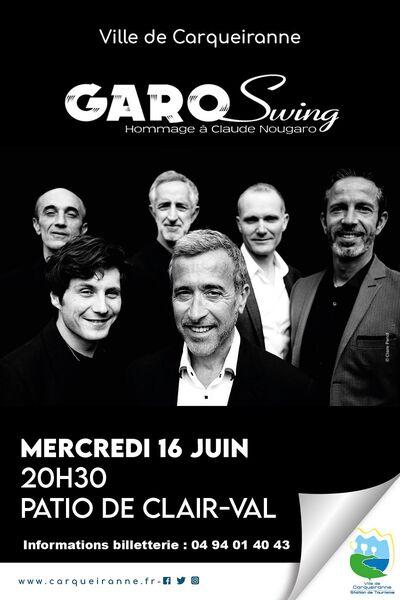 Les Musicales de Clair-Val – Le Groupe GaroSwing à Carqueiranne - 0
