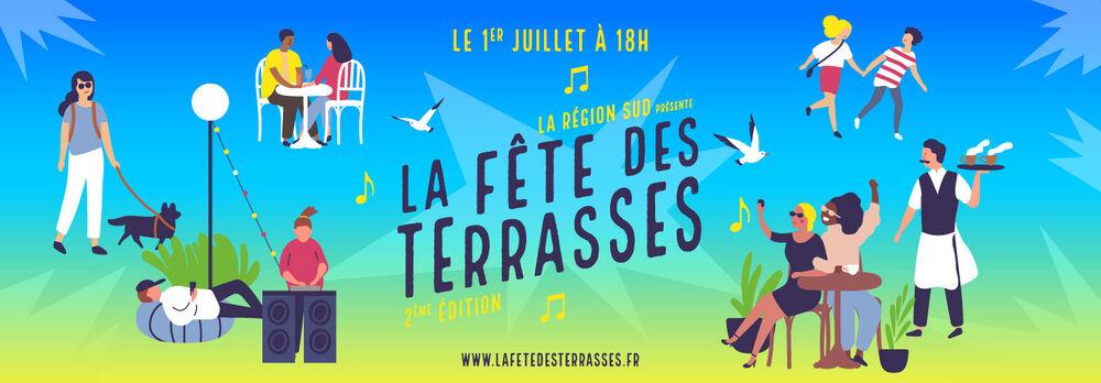 La fête des terrasses 2021 à Marseille - 0