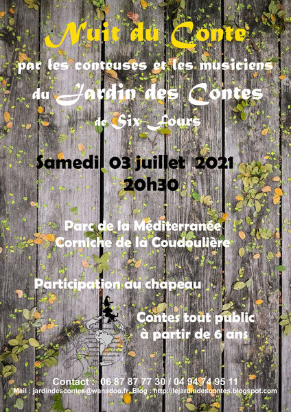 20th Storytelling Night à Six-Fours-les-Plages - 0
