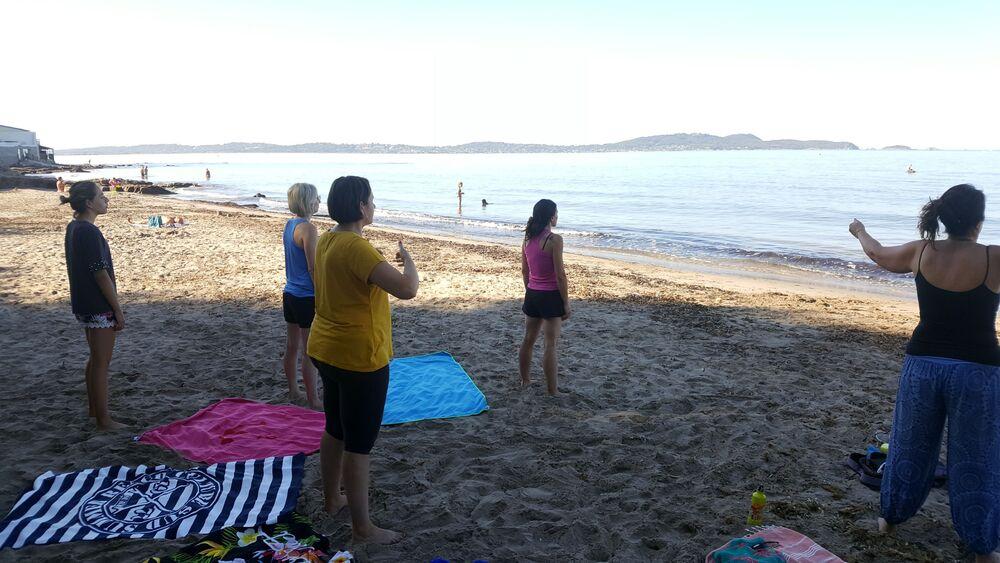 Sophro break at the beach à Six-Fours-les-Plages - 0