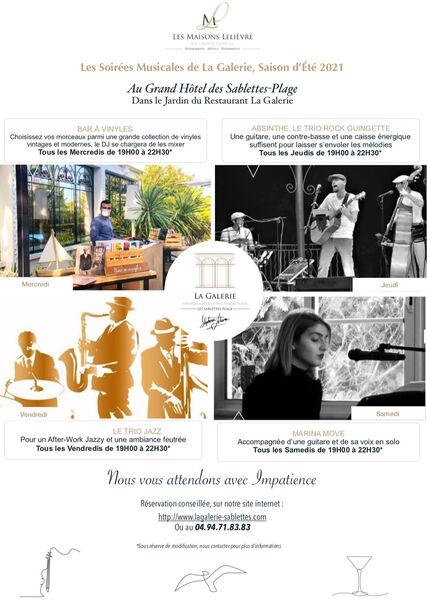 The musical evenings of the restaurant la Galerie à La Seyne-sur-Mer - 0