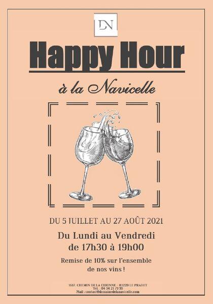 Happy hours / After work  domaine de la Navicelle à Le Pradet - 0