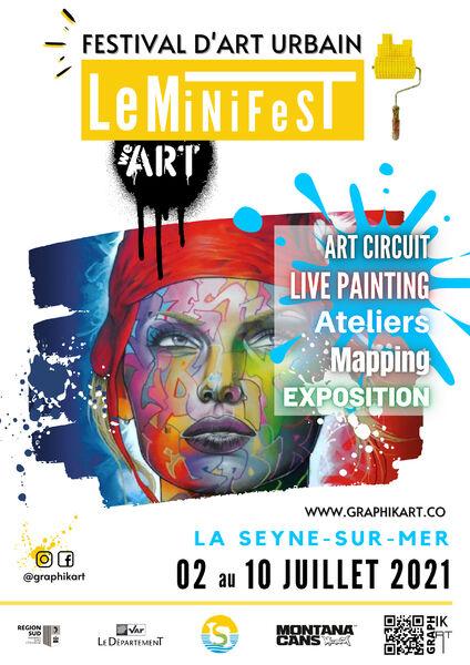 1st Urban Art Festival MiniFest à La Seyne-sur-Mer - 0