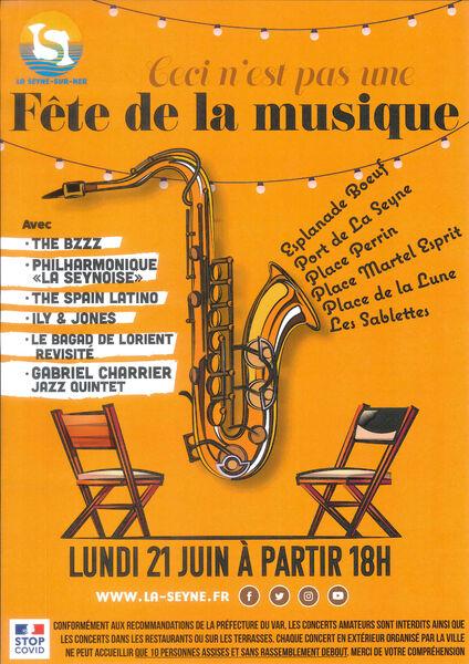 Fête de la musique à La Seyne à La Seyne-sur-Mer - 0