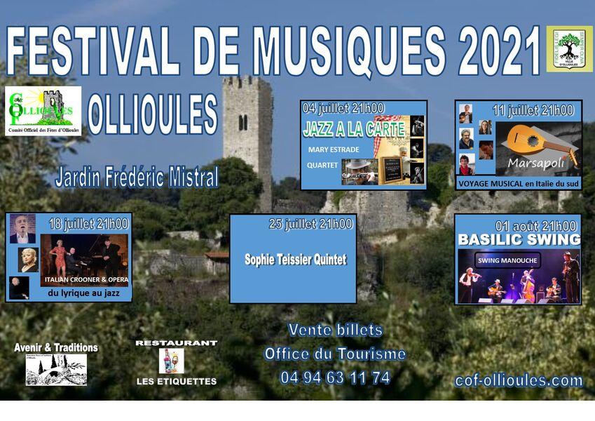 Music Festival: Mary Estrade Quartet à Ollioules - 0
