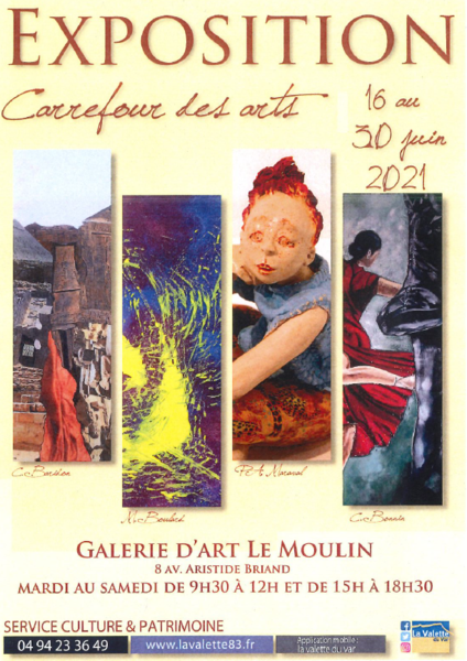 Exposition – Carrefour des arts à La Valette-du-Var - 0
