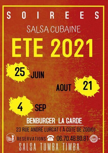 Soirée Salsa Cubaine & Bachata Dominicaine à Hyères - 1