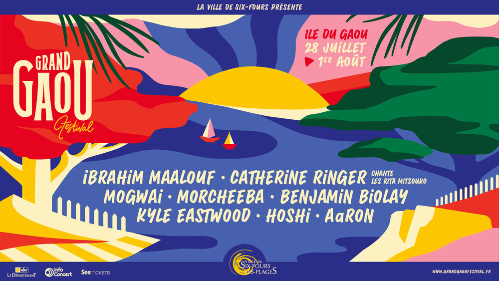 Concert at the Gaou : Catherine Ringer sings the Rita Mistsouko + Aaron à Six-Fours-les-Plages - 0
