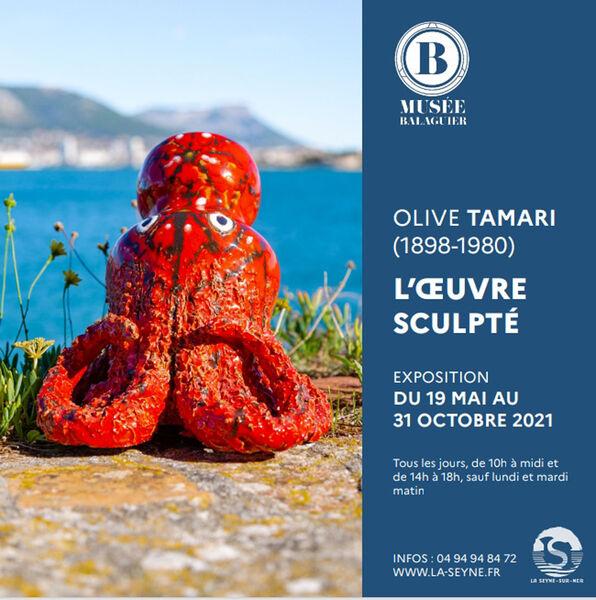 """Olive Tamari's exhibition """"L'Œuvre Sculpté"""" (1898 – 1980) à La Seyne-sur-Mer - 0"""