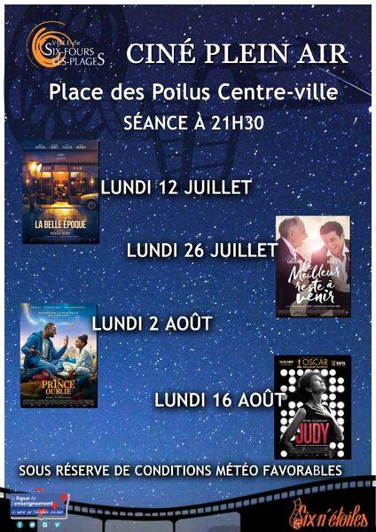 """Cinéma en plein air """"Judy"""" à Six-Fours-les-Plages - 0"""