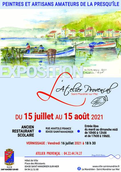 Exhibition of the Atelier Provençal à Saint-Mandrier-sur-Mer - 0