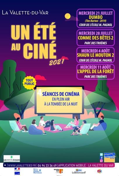 Cinéma – Un été au ciné 2021 à La Valette-du-Var - 0