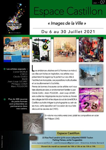 Artistes à découvrir – Images de la ville à Toulon - 1