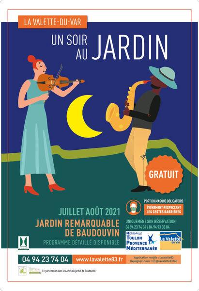 Concert – Un soir au Jardin – Basilic swing à La Valette-du-Var - 0
