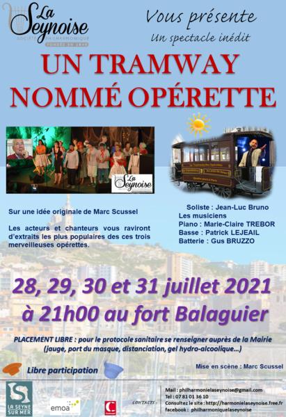 """Show """"Un tramway nommé opérette"""" à La Seyne-sur-Mer - 0"""