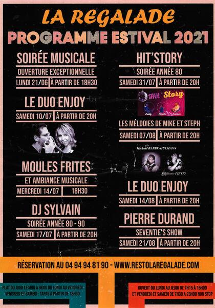 Soirée musicale avec le Duo Enjoy à La Seyne-sur-Mer - 0