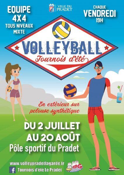 Tournoi de Volley à Le Pradet - 0
