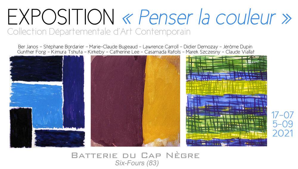 """Exhibition """"Think colour"""" à Six-Fours-les-Plages - 0"""