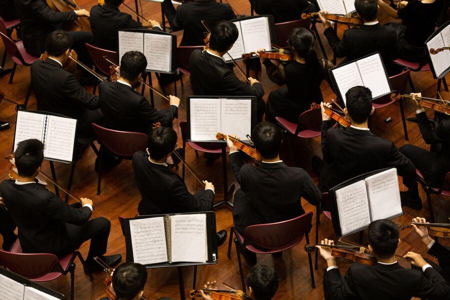 Giens musical festival Concert by the Toulon and Var instrumental ensemble with the Kallist choir à Hyères - 2
