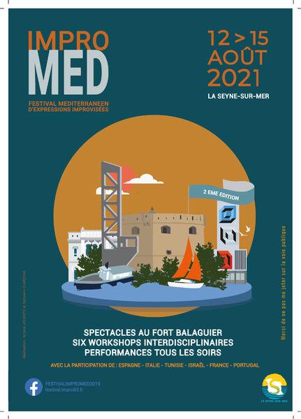 2nd edition of the Impromed Festival (Mediterranean festival of improvised expressions) à La Seyne-sur-Mer - 0