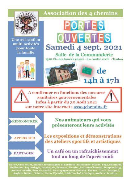 Portes ouvertes Association des 4 Chemins des Routes à Toulon - 0