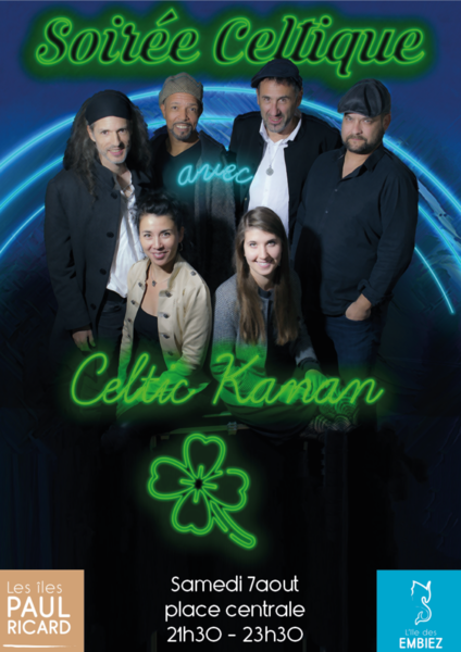 Cancelled: Celtic evening with Celtic Kanan à Six-Fours-les-Plages - 0