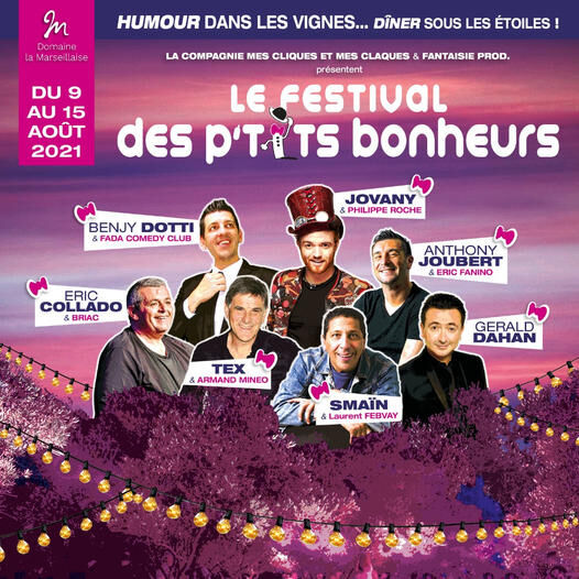 Anthony Joubert Saison 2. Festival les P'tits bonheur à La Crau - 1