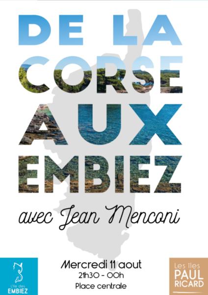 Cancelled: Corsica evening with Jean Menconi à Six-Fours-les-Plages - 0