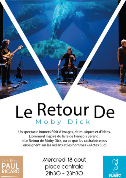 """Cancelled: Show """"The return of Moby Dick"""" à Six-Fours-les-Plages - 0"""