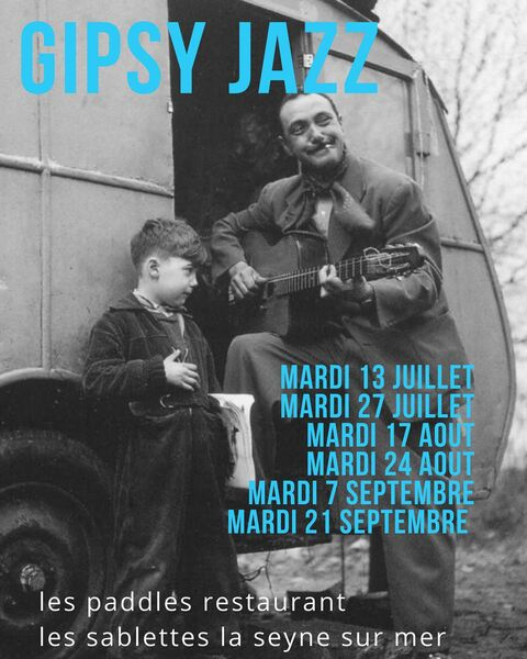 Soirée musicale avec Gipsy Jazz à La Seyne-sur-Mer - 0