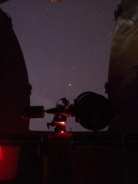 Observation nocturne du ciel d'été à Hyères - 0