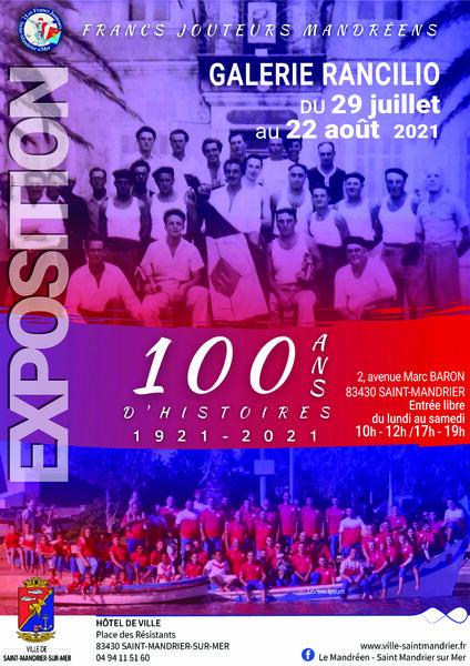 """Exhibition """"100 years of history of the Francs Jouteurs Mandréens (1921-2021) à Saint-Mandrier-sur-Mer - 0"""