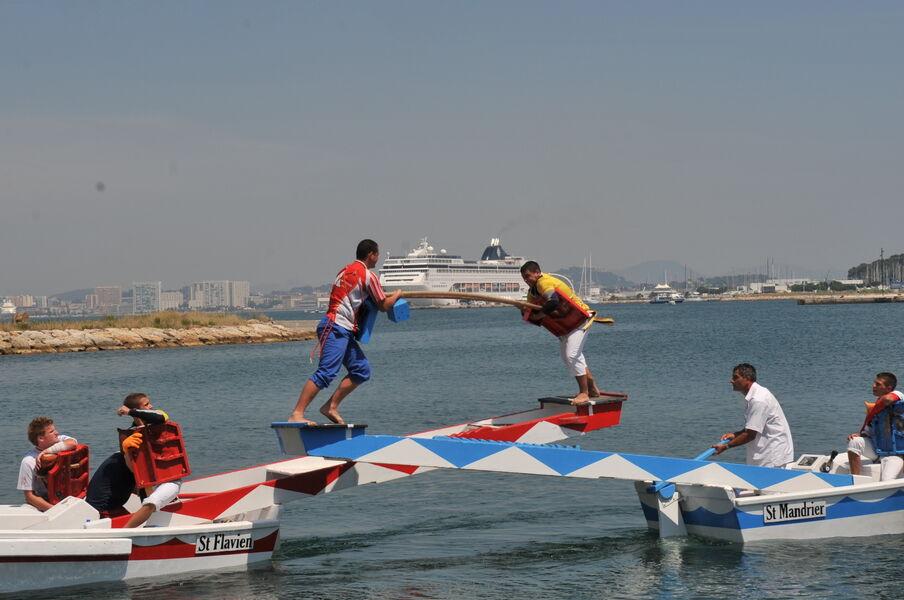 Joutes provençales à La Seyne-sur-Mer - 0