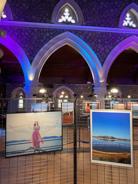 Photography exhibition in Anglican church in Hyeres à Hyères - 2