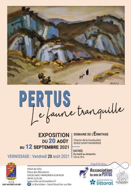 """Exhibition """"Pertus, the quiet faun"""" à Saint-Mandrier-sur-Mer - 0"""