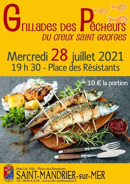 Grillade des pêcheurs à Saint-Mandrier-sur-Mer - 0