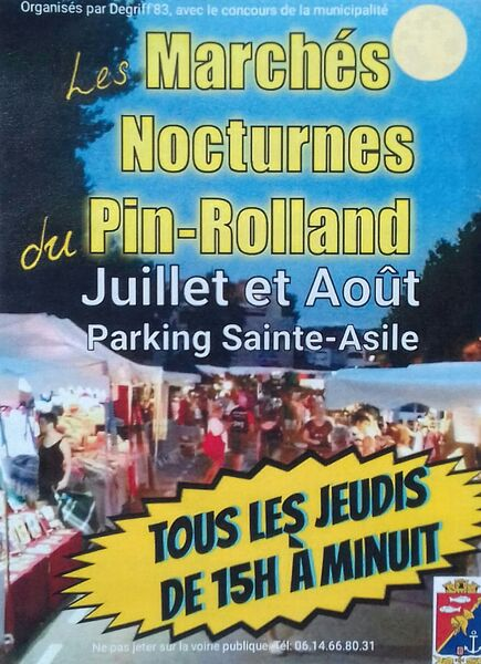 Pin Rolland Night Market à Saint-Mandrier-sur-Mer - 0