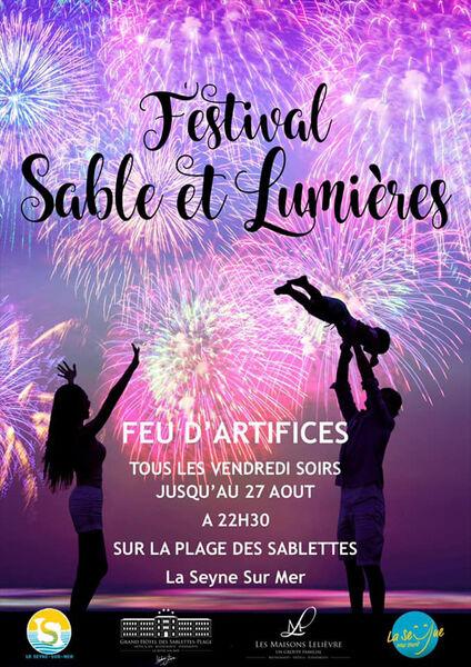 Sand and Light Festival à La Seyne-sur-Mer - 0