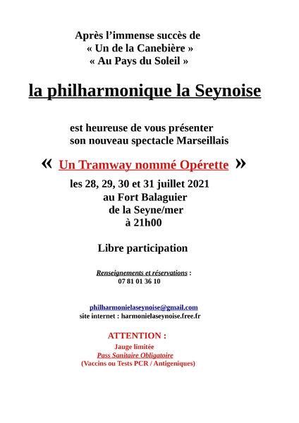 """Show """"Un tramway nommé opérette"""" à La Seyne-sur-Mer - 1"""