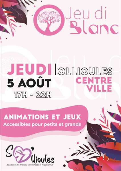 Jeu di Blanc : animations and games à Ollioules - 0