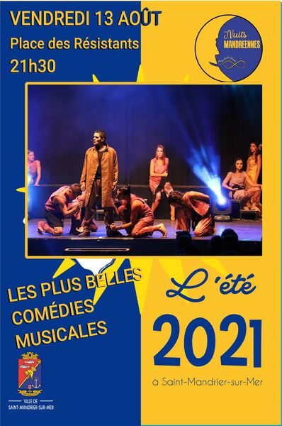 "Show ""the most beautiful musicals"" à Saint-Mandrier-sur-Mer - 0"