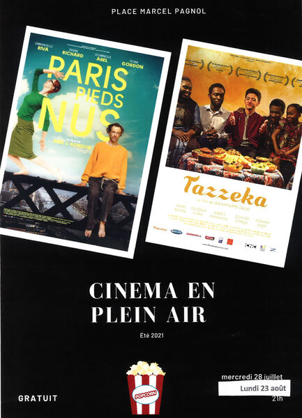 """Cinéma en plein air aux Lônes """"Paris pieds nus"""" à Six-Fours-les-Plages - 0"""