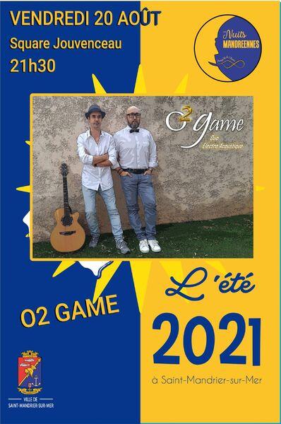Concert O2 Game à Saint-Mandrier-sur-Mer - 0