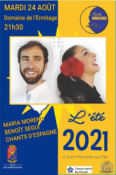 Concert by Maria Moreno, songs from Spain à Saint-Mandrier-sur-Mer - 0